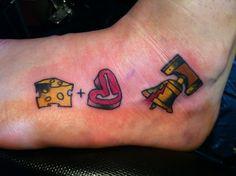 tattoos on pinterest foot tattoos football tattoo and green bay pa. Black Bedroom Furniture Sets. Home Design Ideas