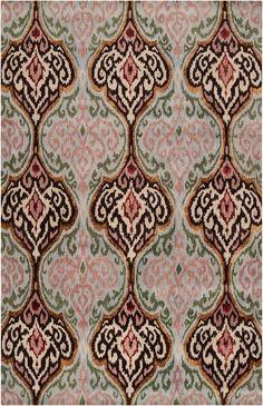 High Point Market StyleSpotter @Traci Puk Zeller loves our new ikat Banshee rug #HPmkt