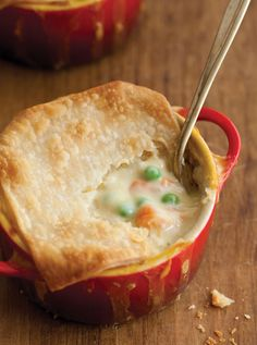 Another great idea for Thanksgiving leftovers...individual turkey pot pies!