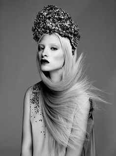 vogue, queens, couture, fashion editorials, headpieces, flowers, hair, photography, floral crowns