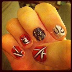 Bearcats university of Cincinnati nails