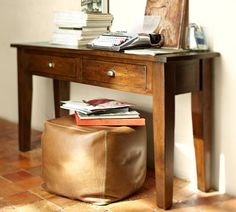 PB Camden Reclaimed Wood Console Table 599