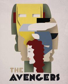 Avengers retro
