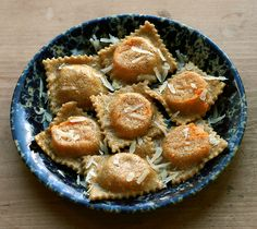 Sweet Potato, Roasted Chili, & Chèvre Ravioli // Reclaiming Provincial