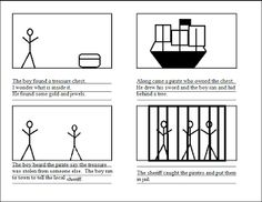 Free Printable Blank Story Board and suggestions for how to teach narrative