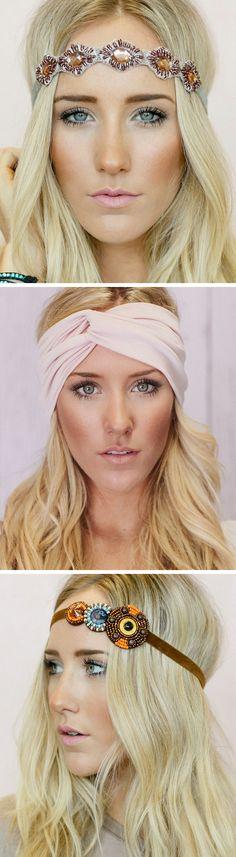 Beautiful, Boho Headbands