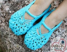 #crochet shoe pattern via @RAKJpatterns