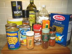 First Apartment Pantry Essentials | My First Apartment   ...........click here to find out more  http://kok.googydog.com