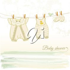 iCLIPART - baby shower card