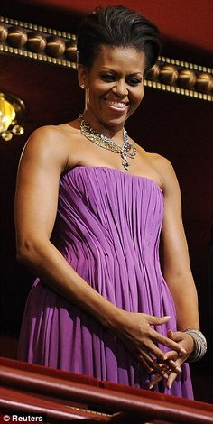 The First Lady in Radiant Orchid