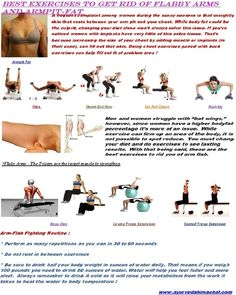 """"""" BEST EXERCISES TO GET RID OF FLABBY ARMS AND ARMPITS FAT """""""