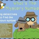 Mystery Detective Theme  This unit has worksheets for practice or assessment for the standard:  1.OA.8  Determine the unknown whole number in additio...