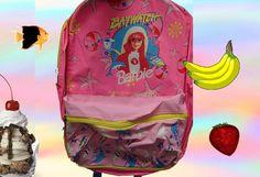 90s RAVE Barbie Backpack