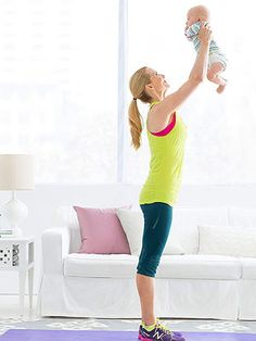 Arm Toning Workout for New Moms - or third time moms....