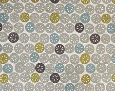 funky colored citrus pattern