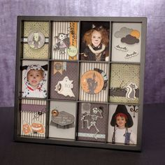 Wood display tray for easy and gorgeous collage decor. #CTMH