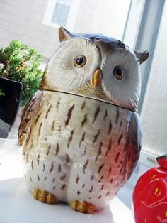 owl cookie jar.
