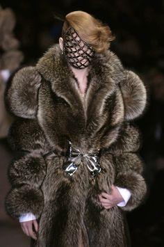 raccoon coat - viktor and rolf AW 2006