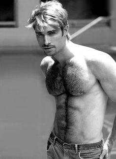 Hot furry blond