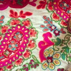 paisleys embroidery- paisley embroideri