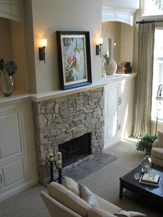 fireplace & built ins