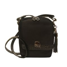 Concealed Carrie Concealed Carry Black Crocodile Crossbody Purse Concealed Carrie http://www.amazon.com/dp/B00GZ3YOY4/ref=cm_sw_r_pi_dp_KQPrub101F45T