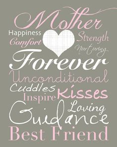 Mother's Day Printable Subway Art Free download 3