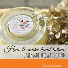 How to make hand lot