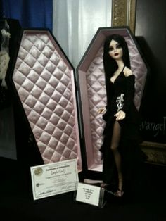 Vampire or #Goth girl? Eternally Yours Evangeline - the newly designed resin Evangeline