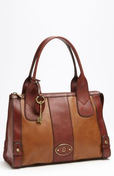 Fossil 'Vintage Re-Issue' Satchel available at Nordstrom......drool