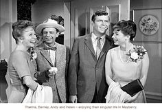 Thelma Lou, Barney, Andy and Helen