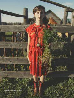 Vintage Capsleeve Dress