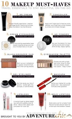 10 Makeup Must-Haves