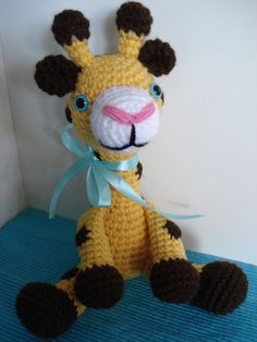 """crochet amigurumi giraffe"" #Amigurumi  #crochet"