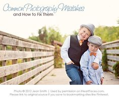 I Heart Faces - Common Photography Mistakes {Part 1}
