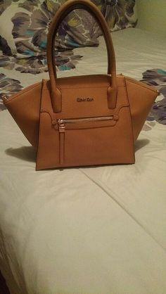 Calvin Klein satchel leather bag
