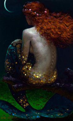 mermaid - Love the colors!