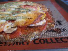 Pizza grain-free crust #primal with a revamped cauliflower crust!