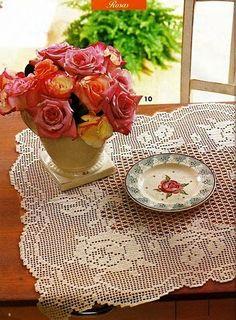 Flower doilies