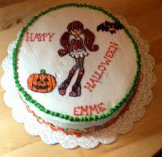 Monster high Halloween cake