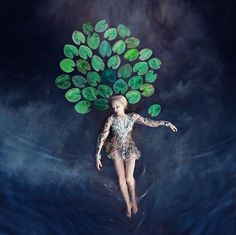 Dreamlike Conceptual Self-Portraits Fused with Dance by Kylli Sparre  http://www.thisiscolossal.com/2014/08/dreamlike-conceptual-self-portraits-fused-with-dance-by-kylli-sparre/