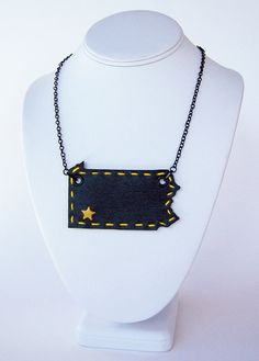 Pittsburgh pride necklace $24