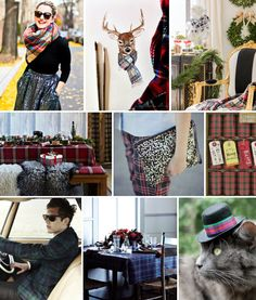 Mood Board Monday: Tartan Plaid (http://blog.hgtv.com/design/2013/12/09/mood-board-monday-tartan/?soc=pinterest)