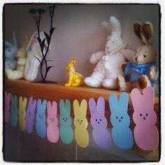Bunny Peeps Bunting