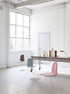 arne jacobsen tongue chair reissued by HOWE