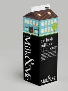 Milk   jebiga   #creative #ideas #packaging #labeling #design #jebiga