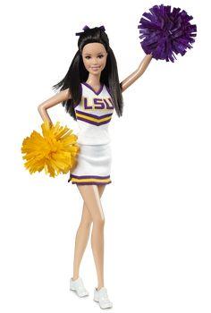 Louisiana State University Barbie® Doll