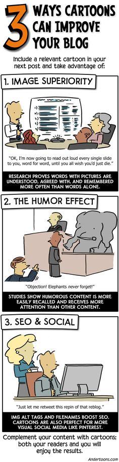 3 Ways Cartoons Can Improve Your Blog