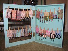 Art Bead Scene Blog: Shadow Box Earring Display Tutorial: Guest Post from Heidi Post
