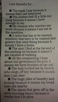 WOW, I adore this..it really makes you thankful for every little thing we take for granted